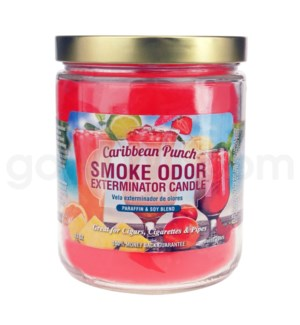 Smoke Odor Exterminator 13oz Candle Carribean Punch