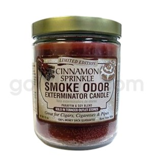 Smoke Odor Exterminator 13oz Candle Cinnamon Sprinkle