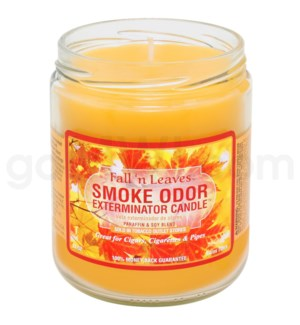 Smoke Odor Exterminator 13oz Candle Fall'n Leaves