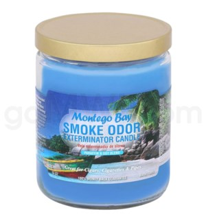 Smoke Odor Exterminator 13oz Candle Montego Bay