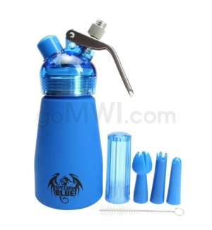 Special Blue Aluminum Suede Dispenser 0.25L-1/2PT Blue