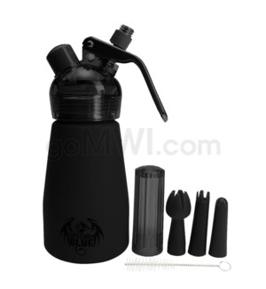 Special Blue Aluminum Suede Dispenser 0.25L-1/2PT Black