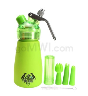 Special Blue Aluminum Suede Dispenser 0.25L-1/2PT Green