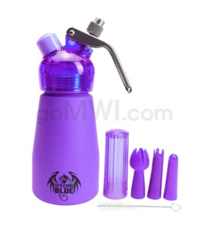 Special Blue Aluminum Suede Dispenser 0.25L-1/2PT Purple
