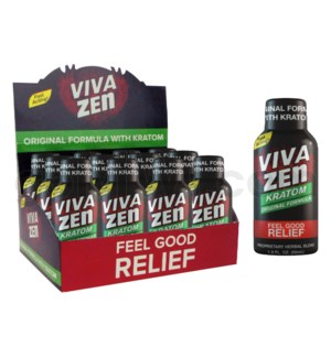 Viva Zen 1.9oz Shot 12ct/Bx