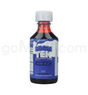 High Tek Syrup 4oz -Kandy Blue