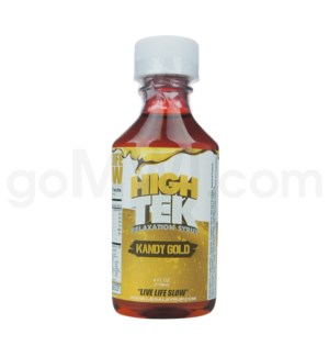 High Tek Syrup 4oz -Kandy Gold