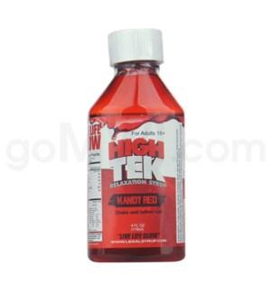 High Tek Syrup 4oz -Kandy Red
