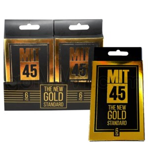 MIT45 The New Gold 6pk 12pcs/bx