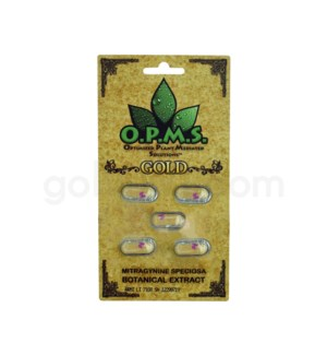 OPMS Kratom Gold Extract 5ct