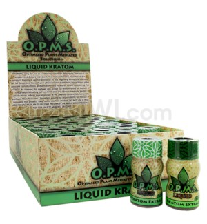 OPMS 8ml Liquid Kratom Shot 45pcs/bx