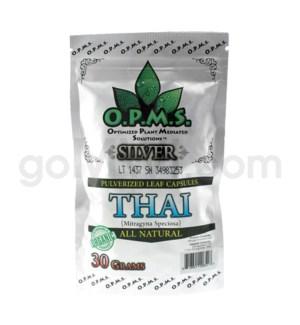 OPMS Kratom 30g Silver Thai 60ct
