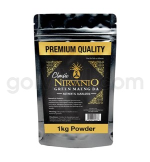 Nirvanio Kratom Maeng Da Powder 1kg 20/cs