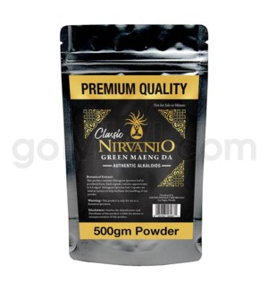 Nirvanio Kratom Maeng Da Powder 500g 25/cs