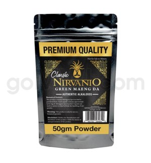 Nirvanio Kratom Maeng Da Powder 50g 100/cs