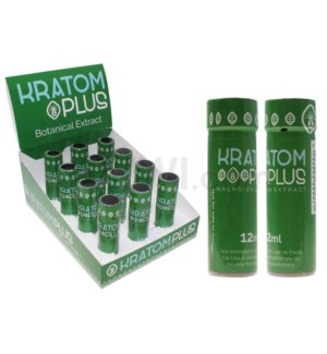 Nirvanio Kratom Plus Shot 12ml 12pc/bx