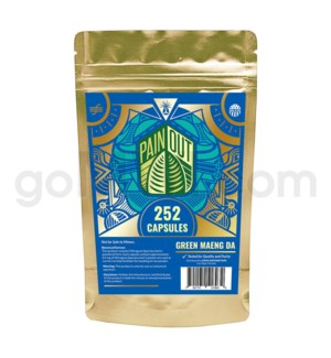 Nirvanio Pain Out Kratom - Maeng Da 252ct