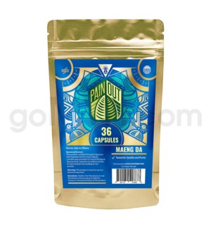 Nirvanio Pain Out Kratom - Maeng Da 36ct