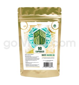 Nirvanio Pain Out Kratom - White Maeng Da 90ct