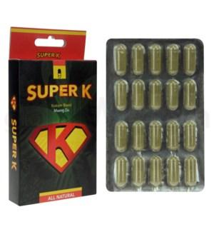 Super K Maeng Da Kratom 40ct
