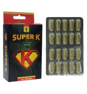 Super K Maeng Da Kratom 80ct