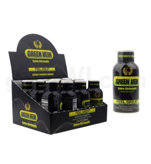 Green Vein Kratom Extract (2oz/ 60ML) 12pcs/BX