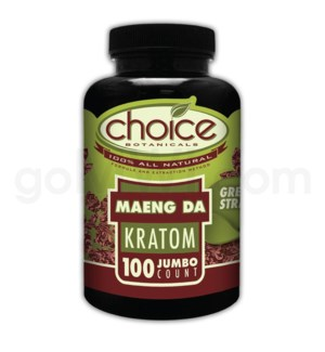 Choice Kratom Maeng Da - 100ct Bottle