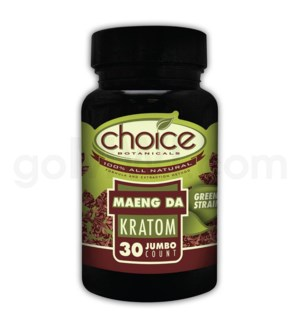 Choice Kratom Maeng Da - 30ct Bottle