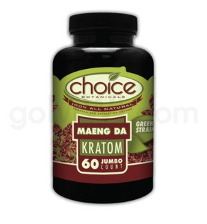 Choice Kratom Maeng Da - 60ct Bottle