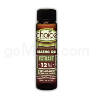 Choice Kratom Maeng Da - 12ml Extract 24pcs/bx