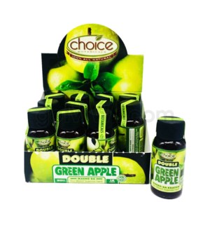 Choice Kratom Maeng Da Double Green Apple - 30ml Ext 12pcs/bx