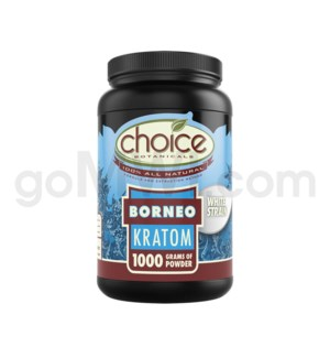 Choice Kratom Borneo - 1kg Powder