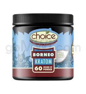 Choice Kratom Borneo - 60g Powder