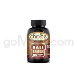 Choice Kratom Bali - 60 Jumbo ct Bottle