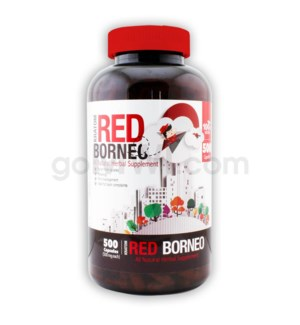 Bumble Bee Kratom -Red Borneo 500 CT