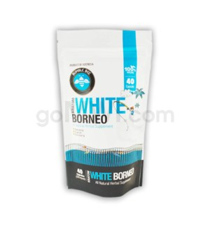 Bumble Bee Kratom -White Borneo 40 CT