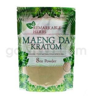 Remarkable Herbs Kratom - Green Maeng Da Powder 8oz