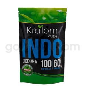 Kratom Kaps - Indo Bag 100CT