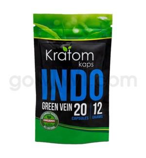 Kratom Kaps - Indo Bag 20CT