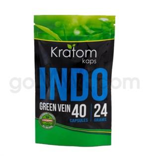 Kratom Kaps - Indo Bag 40CT