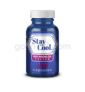 Stay Cool Kratom - Red Maeng Da 300CT