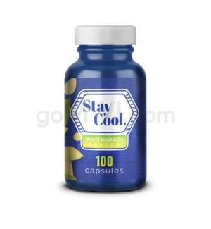 Stay Cool Kratom - White Maeng Da 100CT