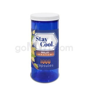Stay Cool Kratom - Green Malay 1000CT