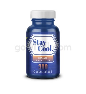 Stay Cool Kratom - Green Malay 300CT