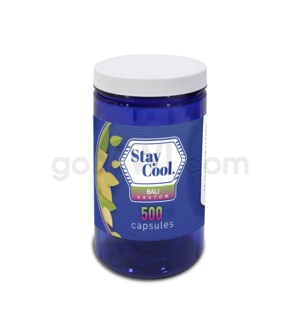 Stay Cool Kratom - Red Bali 500CT