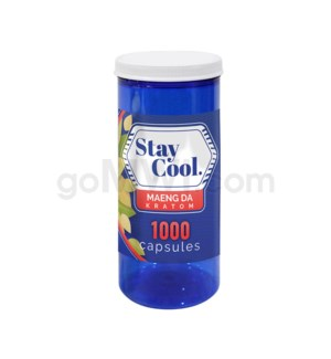 Stay Cool Kratom - Green Maeng Da 1000CT