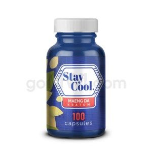 Stay Cool Kratom - Green Maeng Da 100CT