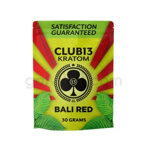 Club 13 Kratom - Bali Red Powder 30g