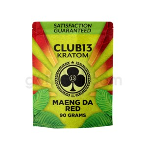 Club 13 Kratom - Maeng Da Red Powder 90g