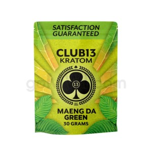 Club 13 Kratom - Maeng Da Green Powder 30g